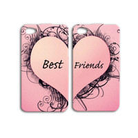 Best Friends Case Cute Case Heart Case Cool Case iPhone 4 Case iPhone 5 Case iPhone 4s Case iPhone 5s Case iPod Case iPod 5 Case iPod 4 Case