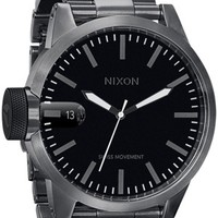Nixon Chronicle SS Watch - all gunmetal - Accessories > Watches > Men's Watches
