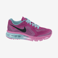 Nike Air Max 2014 3.5y-7y Girls' Running Shoes - Vivid Pink