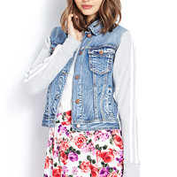 Sporty Denim Jacket