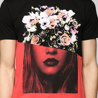 Pieced Flower Girl Tee - Urban Outfitters