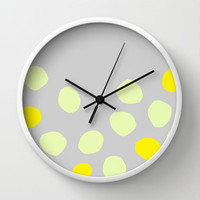 Dots 2 Wall Clock by Cecilia Andersson
