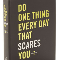 Do One Thing Every Day That Scares You Journal | Mod Retro Vintage Books | ModCloth.com