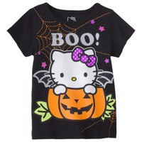 Hello Kitty™ Infant Toddler Girls' Tee - Black