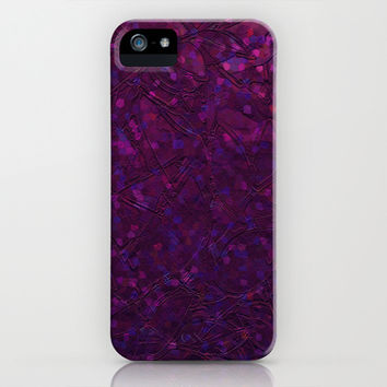 Sparkley Grunge Relief Background G180 iPhone & iPod Case by MedusArt