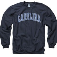 North Carolina Tar Heels Adult Classic Arch Crewneck Sweatshirt