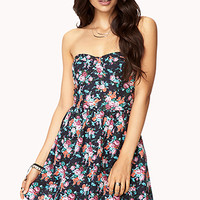 Garden Party Bustier Dress