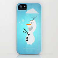 Olaf (Frozen) iPhone & iPod Case by Robert Woods