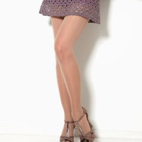 Donna Karan Hosiery The Signature Collection High-Waist Sheer Satin Pantyhose Hosiery OB528 at BareNecessities.com