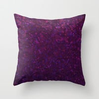 Sparkley Grunge Relief Background G180 Throw Pillow by MedusArt
