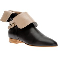 CHLOÉ fold down ankle boot