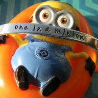 One in a minion bracelet
