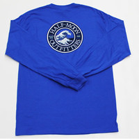 Half-Moon Outfitters Long Sleeve Wave Logo T-Shirt, Long Sleeve T-Shirt