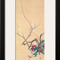 January Framed Giclee Print by Sakai Hoitsu at Art.com