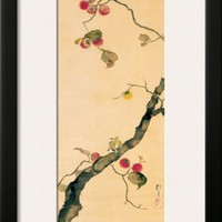 October Framed Giclee Print by Sakai Hoitsu at Art.com