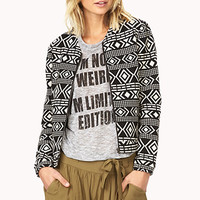 Worldly Tribal Pattern Jacket