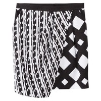 Peter Pilotto® for Target® Skirt -Black/White Print