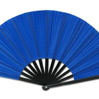 Chinese Nylon-Cloth Fan Greatlookz Colors: Royal Blue