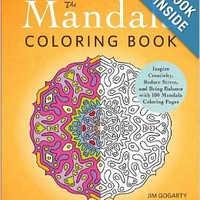 The Mandala Coloring Book: Inspire Creativity, Reduce Stress, and Bring Balance with 100 Mandala Coloring Pages Paperback