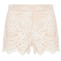 alice + olivia | HIGH WAISTED LACE SHORT