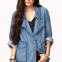 Statement Making Chambray Jacket