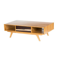 Mid Century Two-Tone Coffee Table - Urban Outfitters