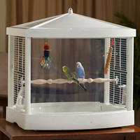 Birdcages for small to medium pet birds: Bird Habitat at Drs. Foster and Smith