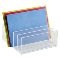 The Container Store > Acrylic Letter Sorter