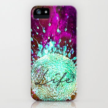 Life - for iphone iPhone & iPod Case by Simone Morana Cyla
