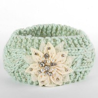 Olive & Pique Embellished Applique Ear Warmer