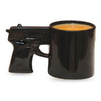 Amazon.com: Big Mouth Toys The Gun Mug: Kitchen &amp; Dining