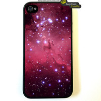 Iphone 4 Case Red Eagle Nebula Space iphone 4 by KeepCalmCaseOn