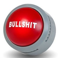 Amazon.com: The Official Bullsh*t Button (BS Button): Toys & Games