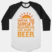 Watch the Sunset and Drink Beer