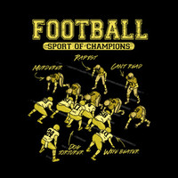 T-Shirt Hell :: FOOTBALL - SPORT OF CHAMPIONS