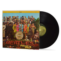 "THE BEATLES - ""Sgt Pepper's Lonely Hearts Club Band"" vinyl record"