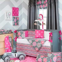 Addison Baby Crib Bedding by Sweet Potato