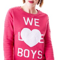 We Love Boys Loose Fit Sweater