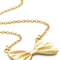 All Tied Together Necklace | Mod Retro Vintage Necklaces | ModCloth.com