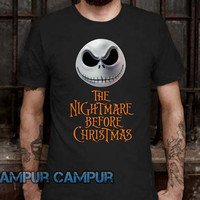 The nightmsre before christmas Tshirt -CAMPURCAMPUR-