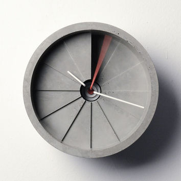 4th Dimension Concrete Clock - Default