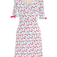 Sweet Cherry Jersey Dress - PLASTICLAND