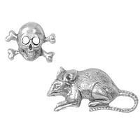 Rat Poison Stud Earrings - PLASTICLAND
