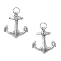 Anchors Aweigh Stud Earrings - PLASTICLAND