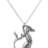 Siren of the Sea Mermaid Necklace - PLASTICLAND