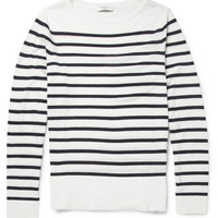Sandro - Striped Lightweight Cotton Sweater | MR PORTER