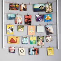 Twine After Time Photo Hanger Kit | Mod Retro Vintage Wall Decor | ModCloth.com