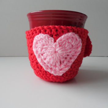 Mug Cozy - Coaster - Heart-