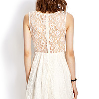 Whimsical Lace Dress