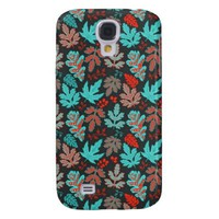 Winter Leaves Samsung Galaxy S4 Case